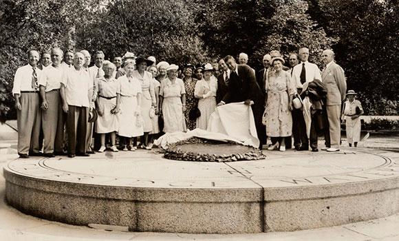 Esplanade Dedication Storrow Memorial